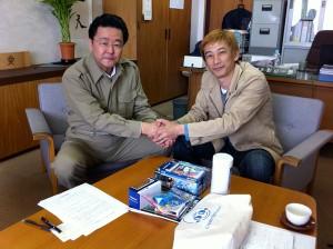 岩沼市教育委員会 教育長 影山さんとの会談