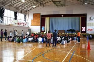 長瀞小学校一年生を迎える会