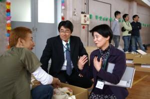 校長先生、教頭先生も親身になって協力してくれました。
