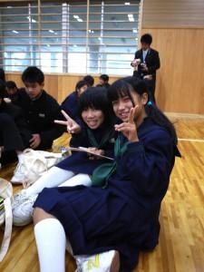 中学生の皆さんも最高の笑顔をくれました!(3)
